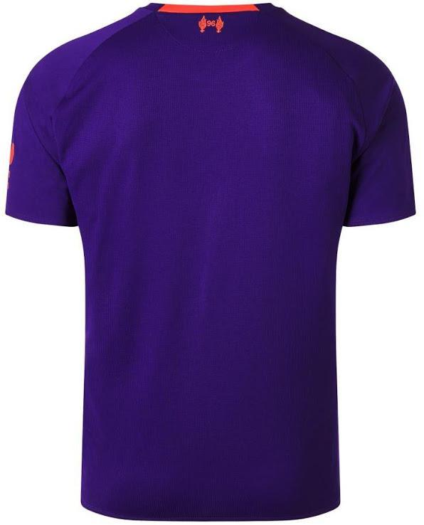 new products 507c7 107ad Liverpool 2018/19 purple away jersey